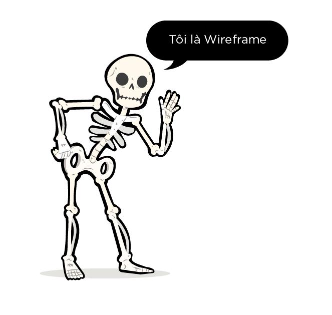 Wireframe là khung xương trong UI/UX Design?