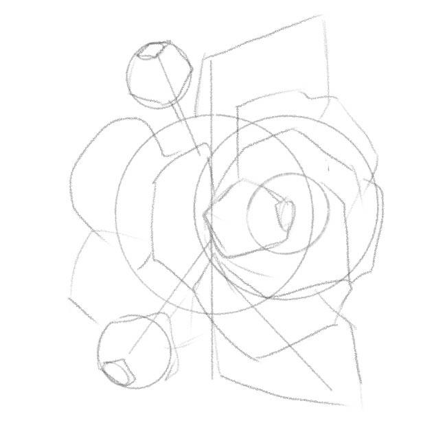 bước 2 luyện vẽ sketch