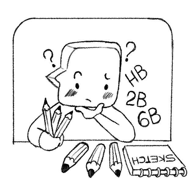 chọn đúng dụng cụ để luyện vẽ sketch