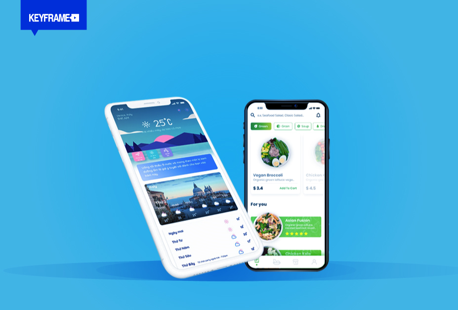 Thiết kế giao diện App/Web  trong nghề Graphic Design