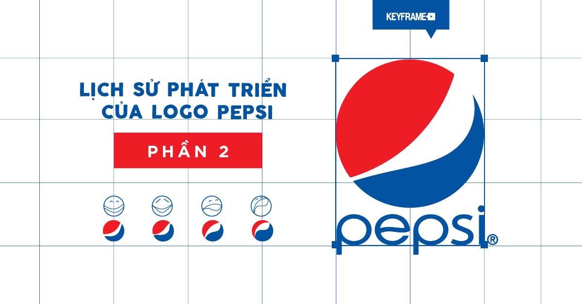 Lịch sử phát triển của logo Pepsi (phần 2)