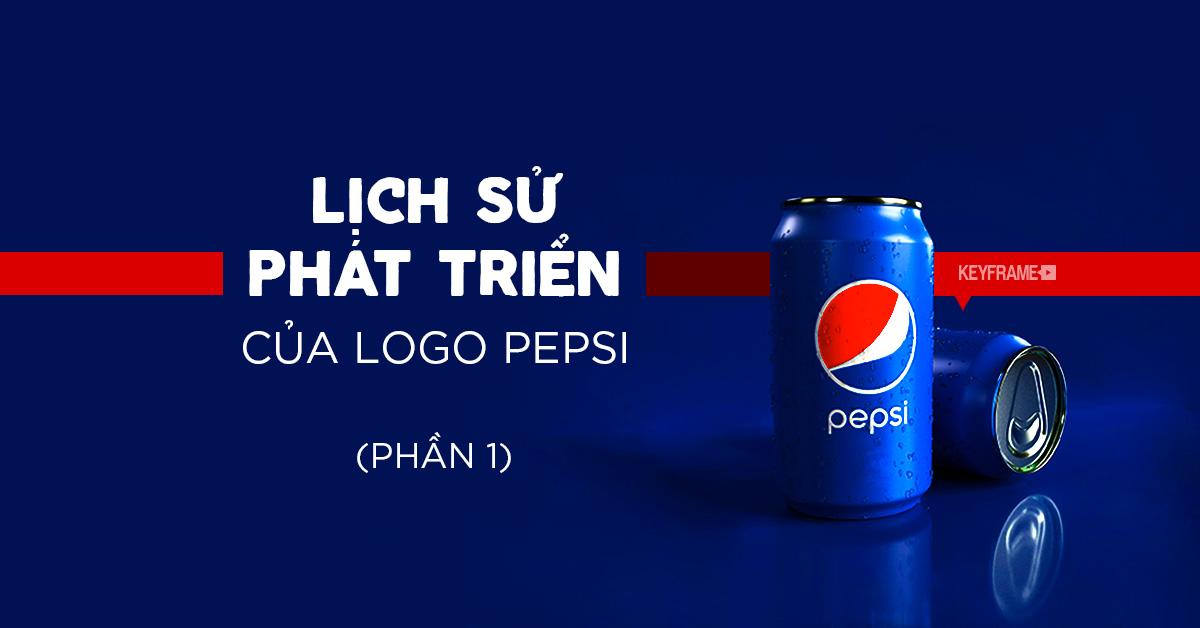 Lịch sử phát triển của logo Pepsi (phần 1)