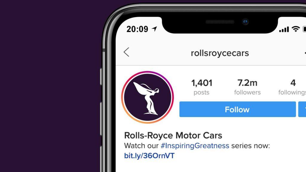 instagram Rolls-Royce