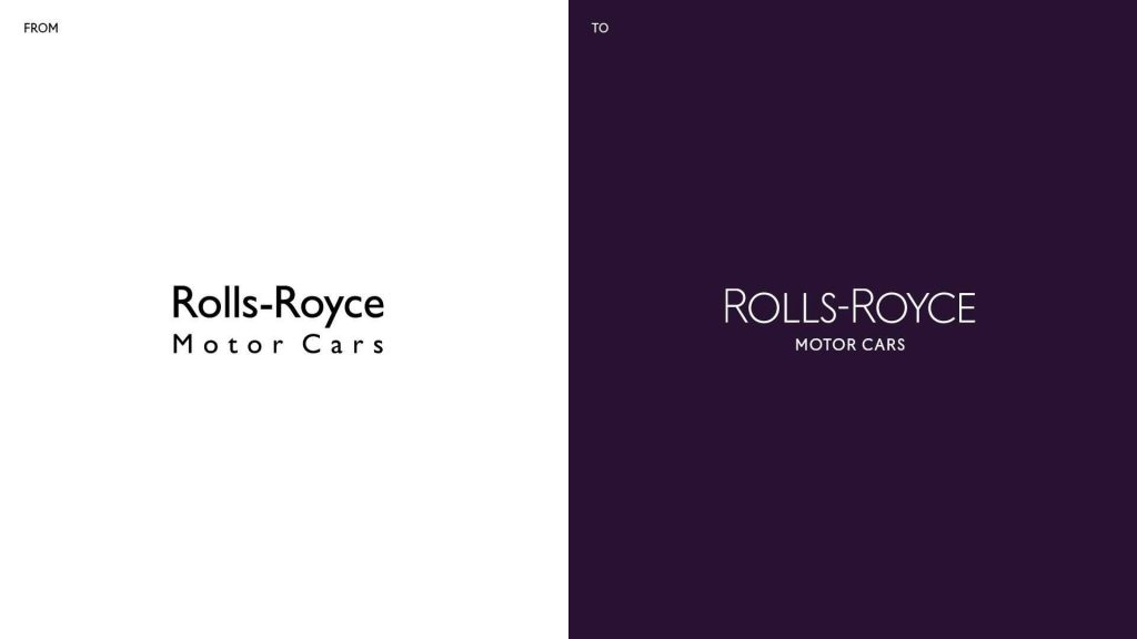 Wordmark Rolls-Royce