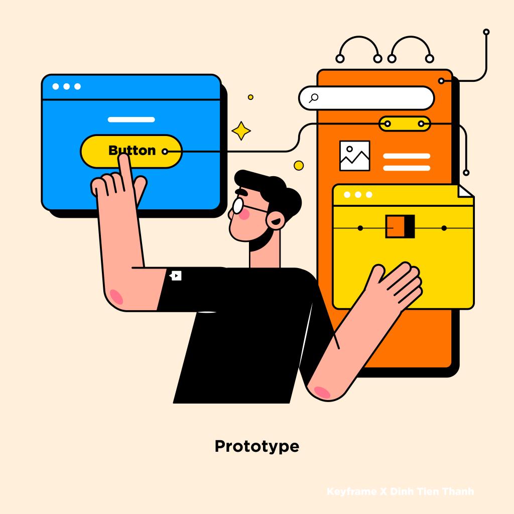 Bước 4: Prototype