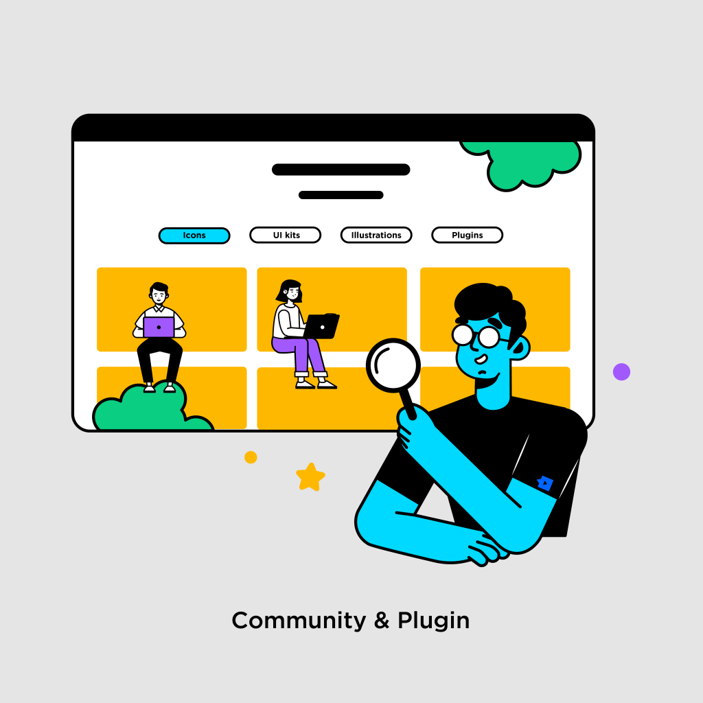 Tính năng của Figma - Community & Plugin