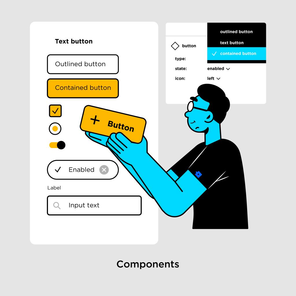 Tính năng của Figma - Components