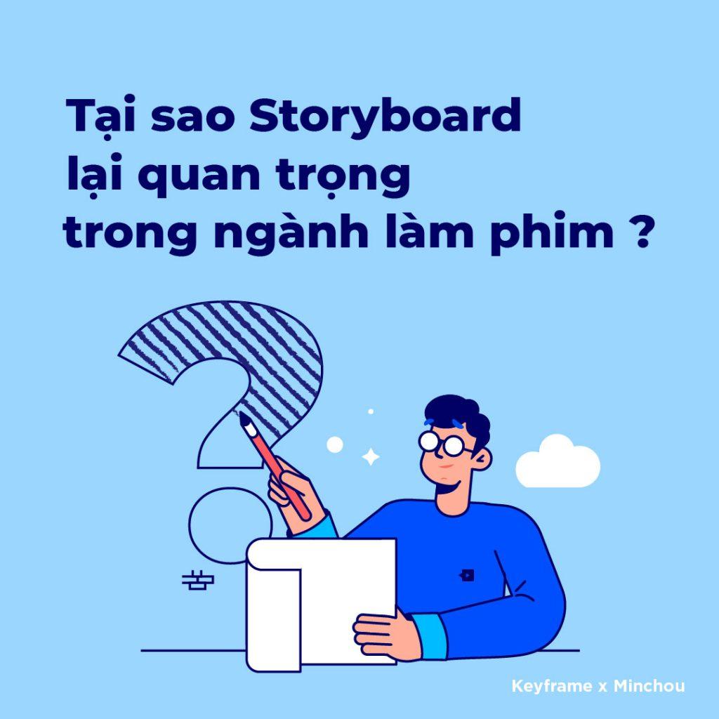 Vai trò của Storyboard là gì?